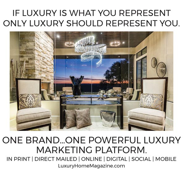 Only luxury should represent you
